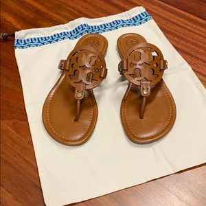 Tory Burch leather flip flop size 9